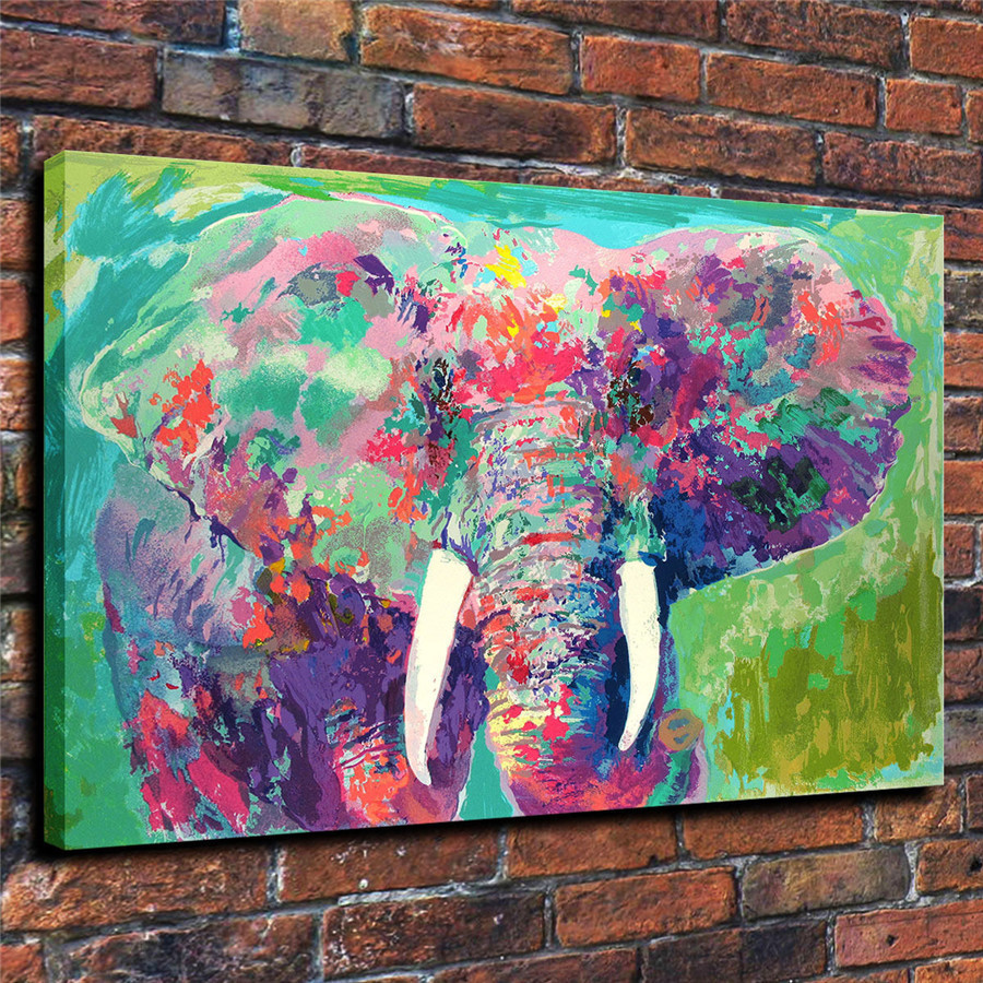 LeRoy Neiman Music and Sports Event Color Print Canvas Painting Living Room Bedroom Home Decor Modern Mural Art Oil Painting#064