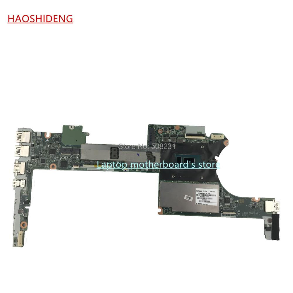 HAOSHIDENG 801507-501 DA0Y0DMBAF0 for HP Spectre X360 13-4000 Series Laptop Motherboard ,All functions fully Tested