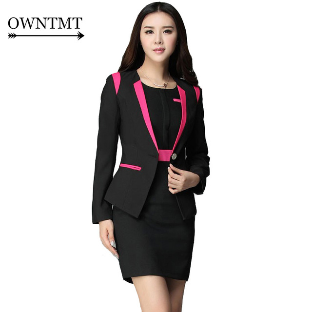 Dress Suit Women 2018 New Arrival Business Suits Formal Office Work Female Slim Fit