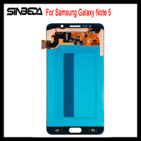 Sinbeda Super AMOLED HD Display For Samsung Galaxy Note 5 N9200 N920F N920T N920A N920V N920C