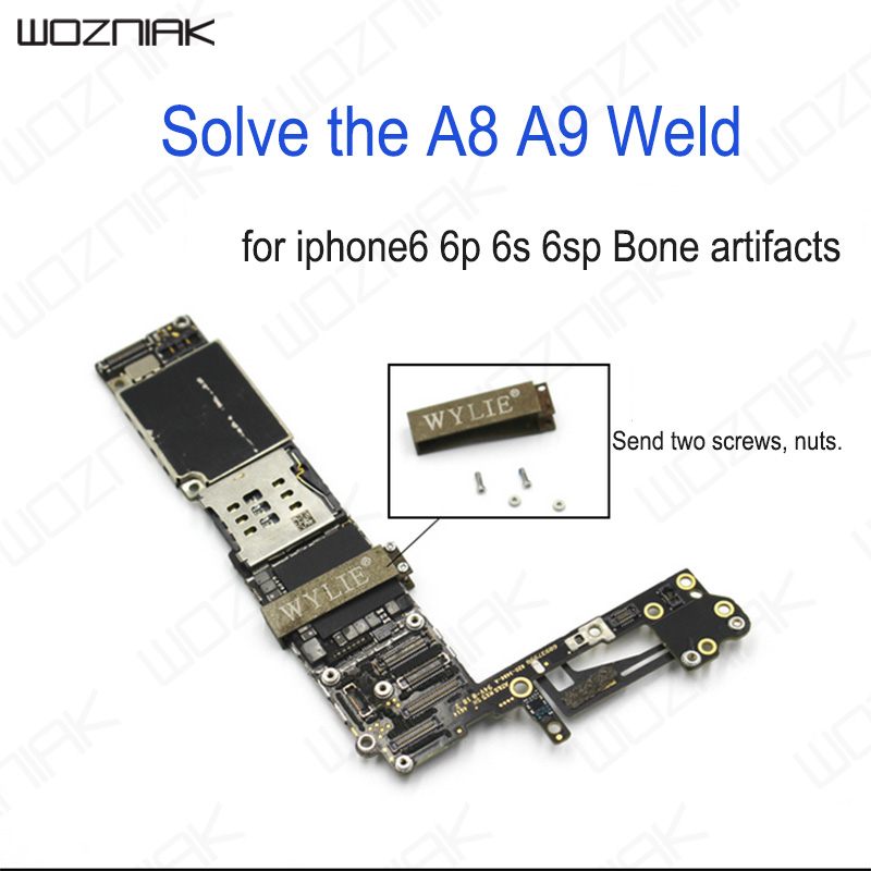 Wozniak A8 A9 CPU Fixed Frame Solve Incomplete Weld For iPhone 6 6P 6S 6SP Skeleton Bone Artifact Clip Phone Repair Tool