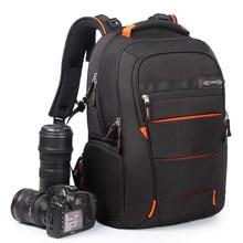 CAREELL универсальная сумка большая емкость DSLR камера сумка Фото сумка камера рюкзак туристический рюкзак для Canon Nikon sony цифровая камера