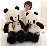 90cm Cute panda plush toy panda doll big size pillow birthday gift