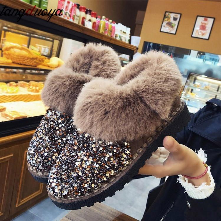 Women Winter Warm Boots Women Casual Shoes Snow Boots Women Winter Shoes Female Ankle Boots For Women botas feminina
