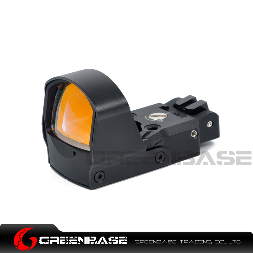 Greenbase Optics DP Pro Red Dot Sight Mini Reflex Rear Sight Pistol Hunting Scopes Rifle Aim Fit Airsoft Glock 1911 1913 Mount vector optics sphinx red dot sight with pistol rear mount for glock 17 19 sig sauer beretta springfield xd s
