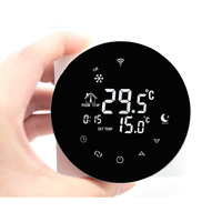 Gas Boiler Heating Thermostat Wifi Thermostat Remote Control Negative LCD Digital Touch Screen Temperature Controller