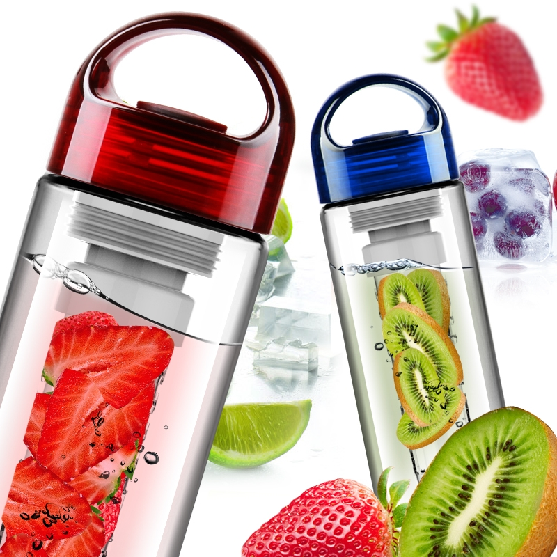 New 700ml Fruit Infusing Watter Bottle Lemon Juice Maker Fruit Infuser Bike Travel School BPA Sports Health Hot Sale