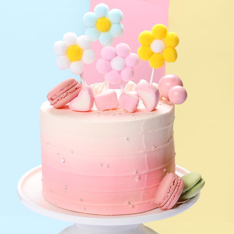Fine Lovely Girls Birthday Theme Cake Topper Beautiful Velvet Ball Funny Birthday Cards Online Bapapcheapnameinfo