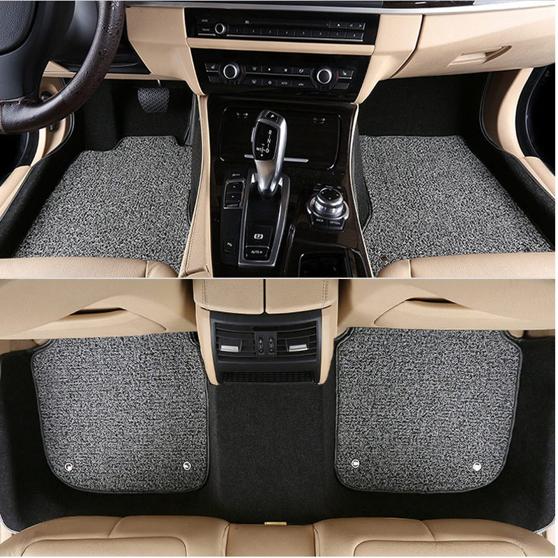 car floor mat carpet rug ground mats for Hyundai sonata elantra accent tucson ix 35 ix35 ix 25 ix25 free shipping leather car floor mat carpet rug for hyundai sonata hyundai i45 sixth generation 2009 2010 2011 2012 2013 2014