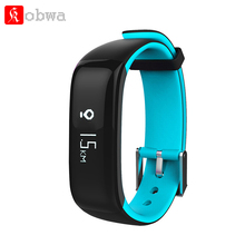 P1 Blood Pressure Monitor Smart Band Pedometer Smartband Heart Rate Monitor Fitness Tracker Bracelet For IOS Android Xiaomi P0.2 bluetooth wristband bracelet smart band fitness tracker heart rate sleep monitor dynamic pedometer smartband for ios android b0