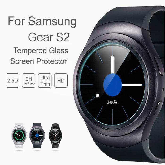 Neuzugang 0,26 mm 2,5 D 9H gehärtetes Glas für Samsung Galaxy Gear - Handy-Zubehör und Ersatzteile - Foto 3