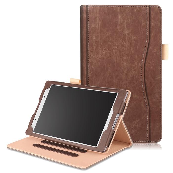 Multi Degree Stand Cover Case for Lenovo Tab4 Tab 4 8 TB-8504 TB4-8504F Tab4-8504N 8504 + 2 Pcs Screen Film Gift