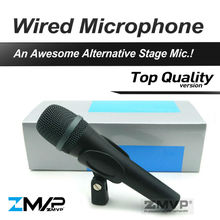 Free Shipping! Top Quality 945 Professional Dynamic Super Cardioid Vocal Wired Microphone e 945 Microfone Microfono Mike Mic