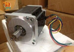Image 2 - Gratis schip! Wantai 3 Axis Nema 34 Stappenmotor WT86STH118 6004A 1232oz in + Driver DQ860MA 80V 7.8A 80V 256Micro CNC cut & Graveren