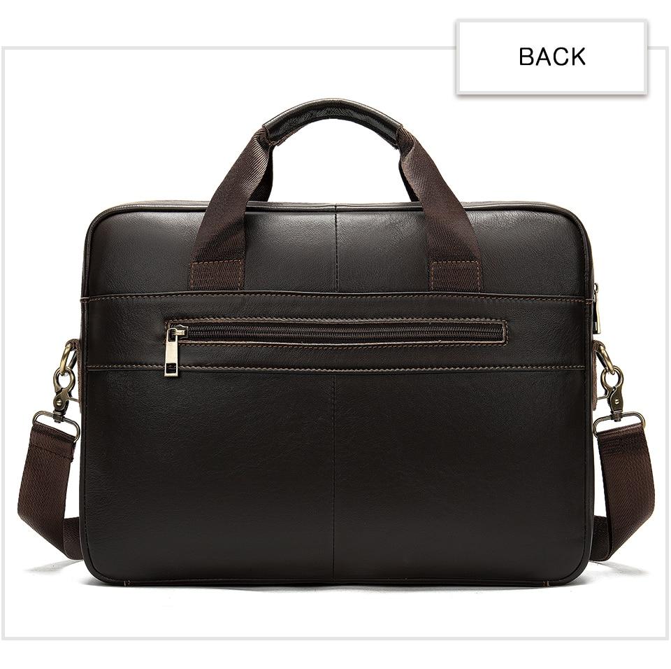 HTB1rDdOV3HqK1RjSZFEq6AGMXXaZ WESTAL Men's Briefcase Men's Bag Genuine Leather Laptop Bag Leather Computer/Office Bags for Men Document Briefcases Totes Bags