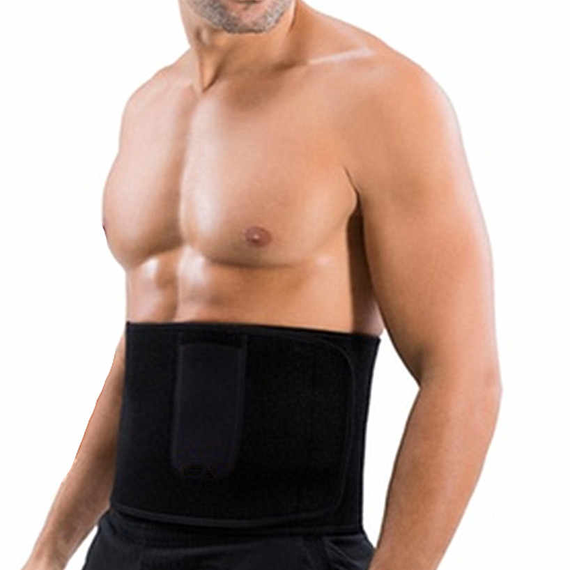 CHENYE 네오프렌 맨 셰이퍼 남성 허리 트레이너 Cincher 코르셋 남성 바디 모델링 벨트 Tummy 슬리밍 스트랩 Fitness Sweat Shapewear