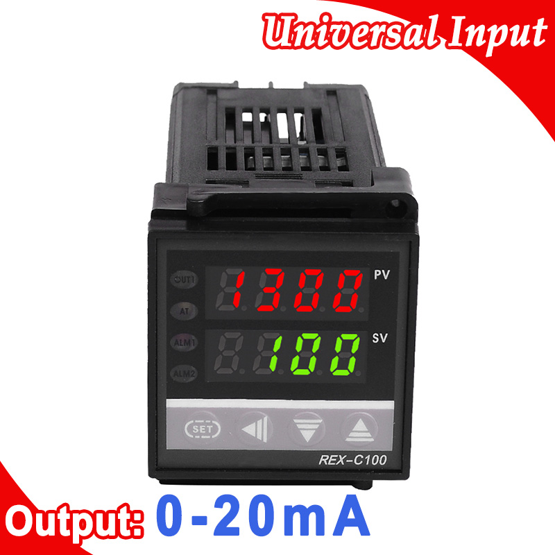 Digital PID Temperature Controller Universal (K,J,R,S,B,E,N,T,PT100,J PT100) Input, Current 0-20mA Output universal input pc programmable temperature head transmitter 4 20ma analouge output tmt902b