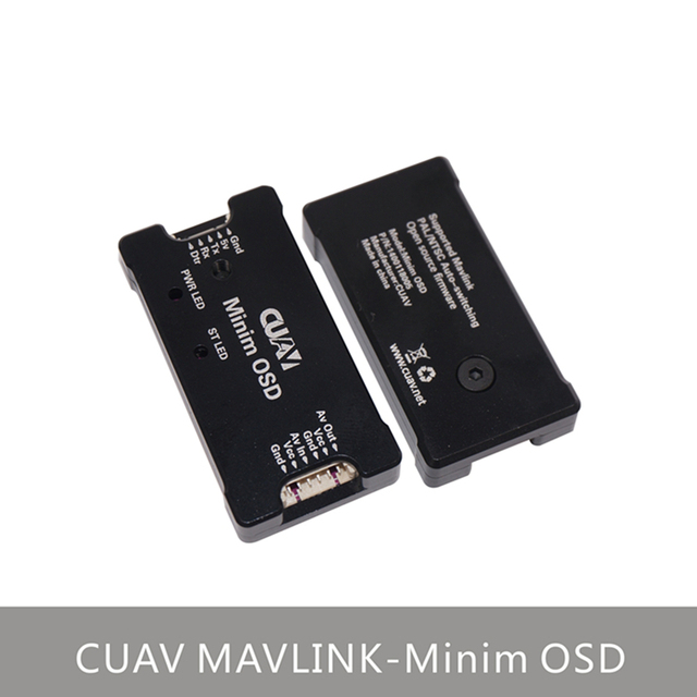US $32 99  NEW CUAV MinimOSD Support MAVLINK protocol OSD ARDUPILOT MEGA  OSD FOR APM/Pixhawk/Pixhack-in Parts & Accessories from Toys & Hobbies on