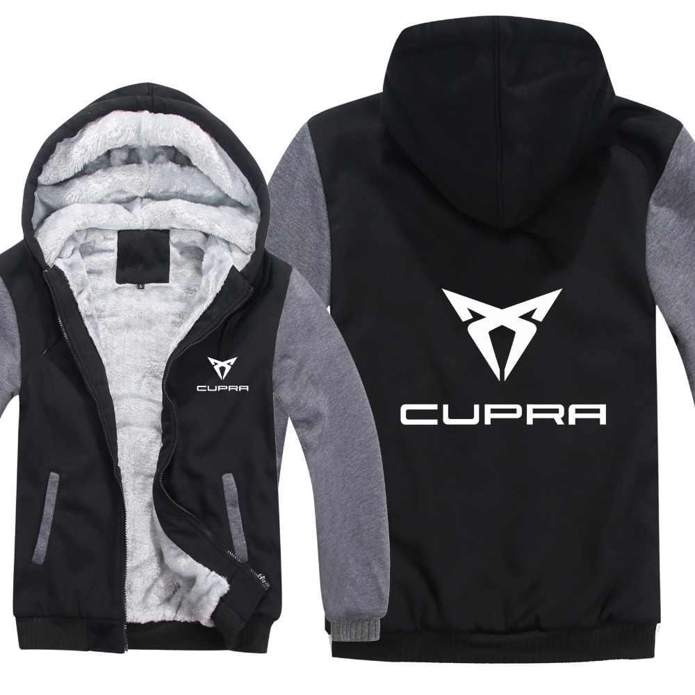 新しいキュプラパーカージャケット冬男性プルオーバー男コートカジュアルウールライナーフリースキュプラスウェット
