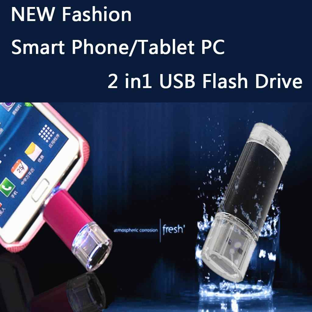 Nuevo teléfono inteligente Tablet PC Memoria Flash USB 64 GB Pen Drive OTG de almacenamiento externo Micro Mini Memoria usb 2,0 pluma