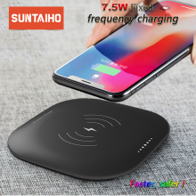 Suntaiho Qi wireless charger for iphone XS Max XR USB Fast charger for Samsung Galaxy S8 S9Plus for Xiaomi mi9 quick charge 3.0