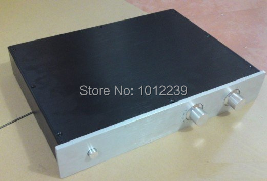 4307  Pre-amp Chassis / DAC Chassis / DIY home audio amp chassis size Width 430 Height 70 Depth 308mm jbl 4307
