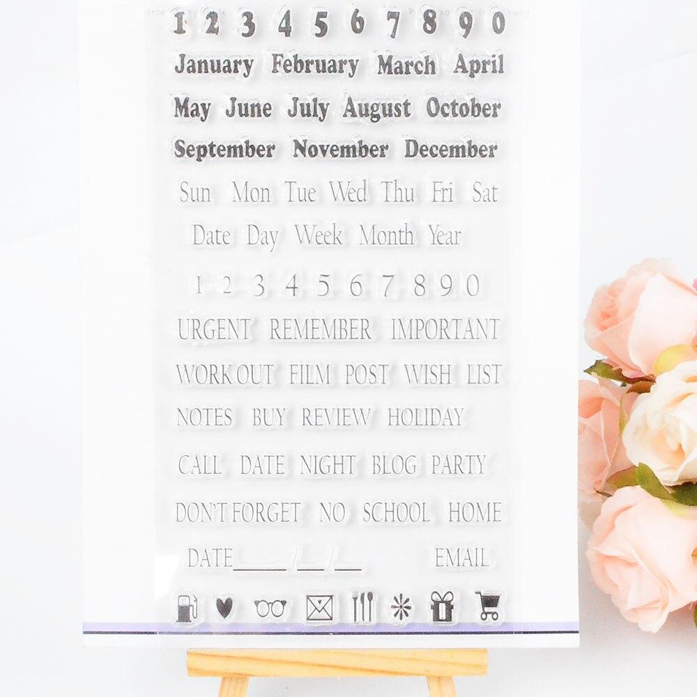Decora 1 шт. подарок силиконовый прозрачный штамп DIY Скрапбукинг Рождество украшения поставки