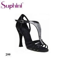 Free Shipping 2017 Suphini High Quality Latin Shoes Hot Sale Dance Shoe High Heel Salsa Dance