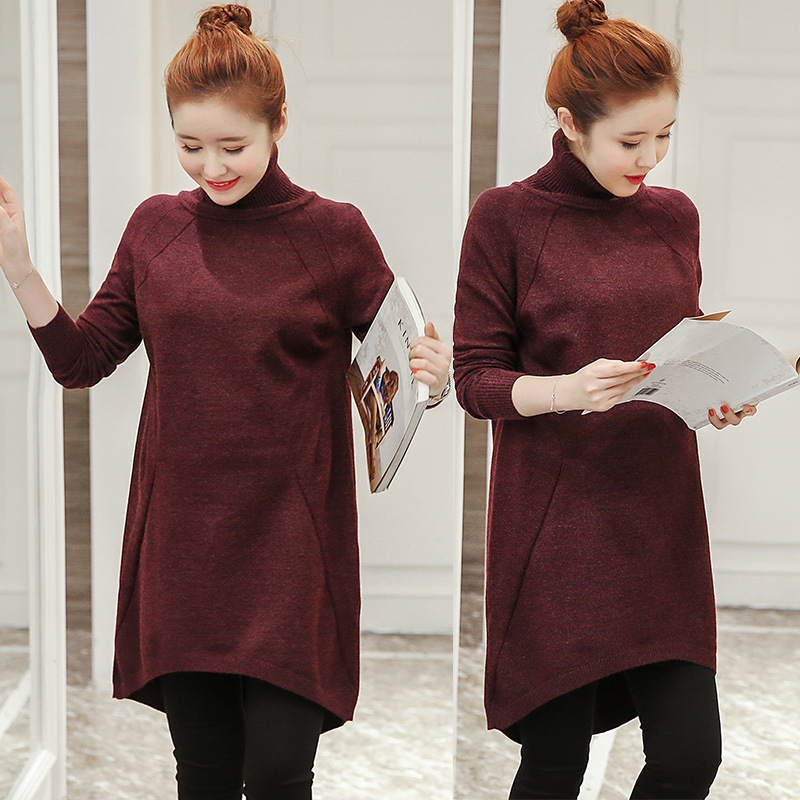 Elastic Warm Slim Knitted Maternity Dress Brand Maternity Clothes Bodycon Clothes Pregnant Women Pregnancy Party Dress YL354 10pcs lot free shipping original high quality for asus x555l a555l v455 x455l series dc jack