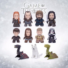 цена Game of Thrones Character model SANSA STARK/TYRION LANNISTER/JAIME LANNISTER/JON SNOW /GHOST Action Figure toys Model toy онлайн в 2017 году