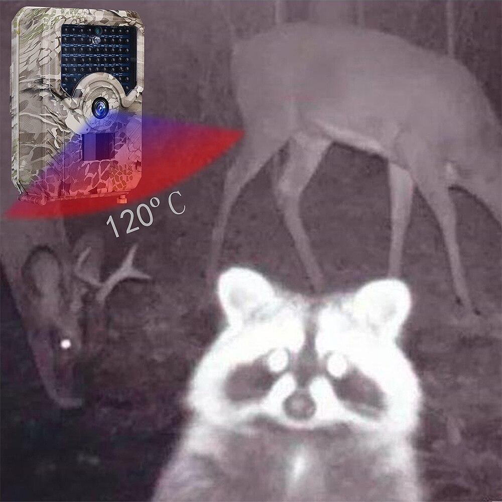 Дикая камера охотничья камера HD Trail камера PR200 1080P инфракрасная светодиодная 940nm охотничья камера водонепроницаемая угол 120 градусов Дикая к...
