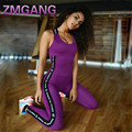 Mujeres Ru Mono Ropa Deportiva Gimnasio Stretch Pantalones Mamelucos Womens Jumpsuit Mujeres Playsuits Casual Trajes Body de Manga