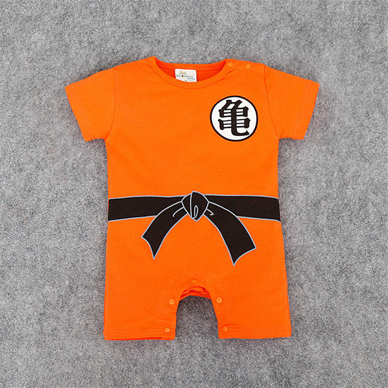 KAVKAS Childrens Jumpsuit Newborn Boys Clothes SUN GOKU Toddler overalls Bebe Halloween Costumes For baby Clothes