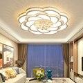 Хрустальные современные светодиодные потолочные лампы Dia 52/68/80 см  потолочные лампы для гостиной  спальни  2019