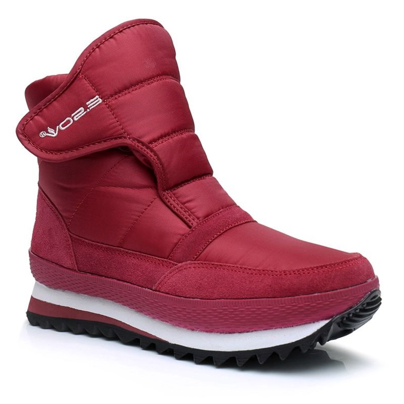 Winter Woman Snow Boots Waterproof 2018 Brand New Winter Women Warm Shoes Non-slip Plus Size Velvet Short Snow Boots 7h63 marbo mh a102