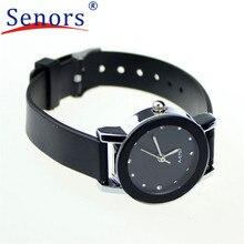 HF 2016Hot !New Fashion Ladies PU Leather High-Quality Dail Quartz Watch Gift relogio masculino Uhren relojes OC21 5Down