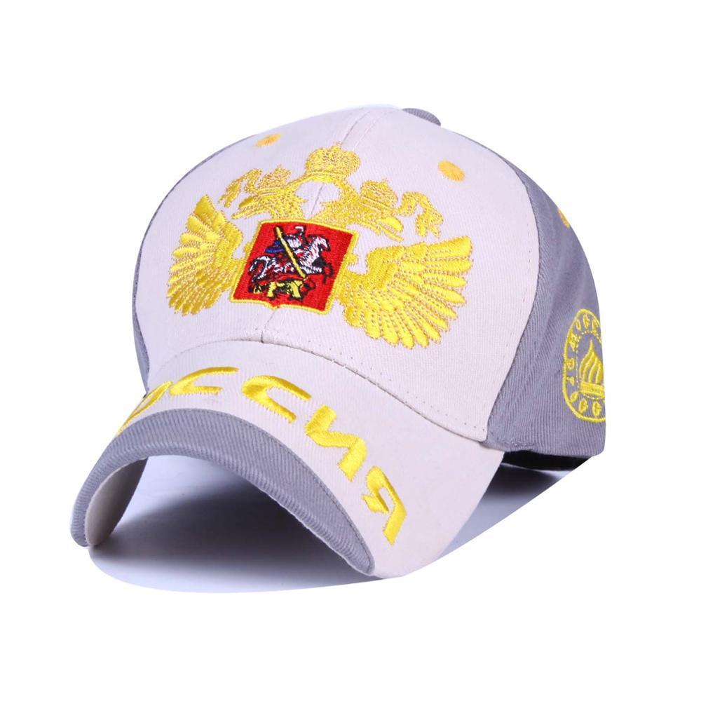 Nueva Moda Rusia Bosco Sochi Rusia Simbolizan la Gorra de Béisbol Del  Snapback Tapa Sunbonnet sombrero Para Hombres Mujeres Hip Hop Sombrero  Hueso KB05 en ... a3357a321b9