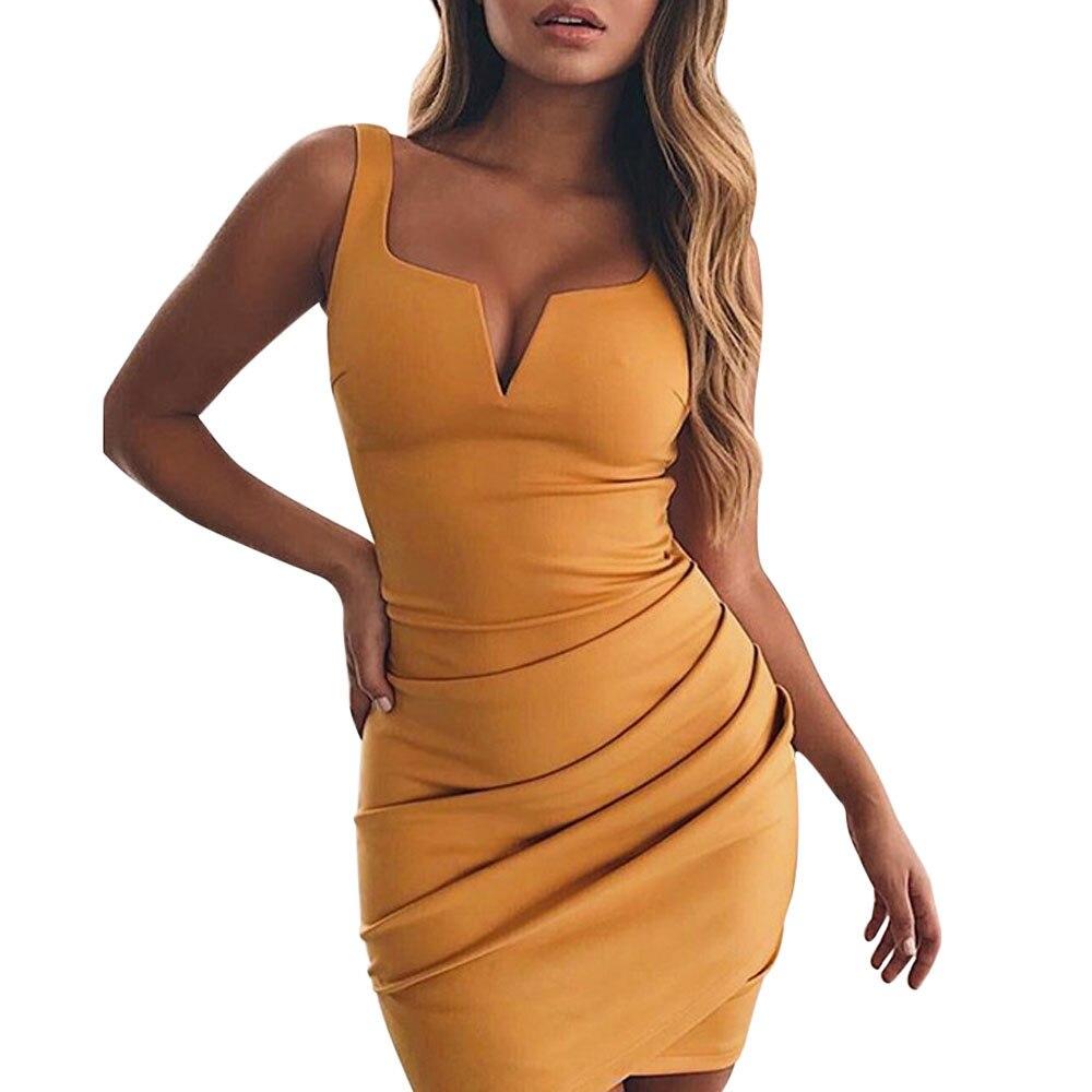 Heißer Verkauf Sommerkleid 2018 Frauen Sommer Strand Sexy ...