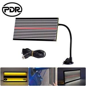 Image 5 - Hot Sale Super PDR LED Line Board Dent Reflector Lamp Dent Repair Tools Dent Detector for Car Body Dent Remove