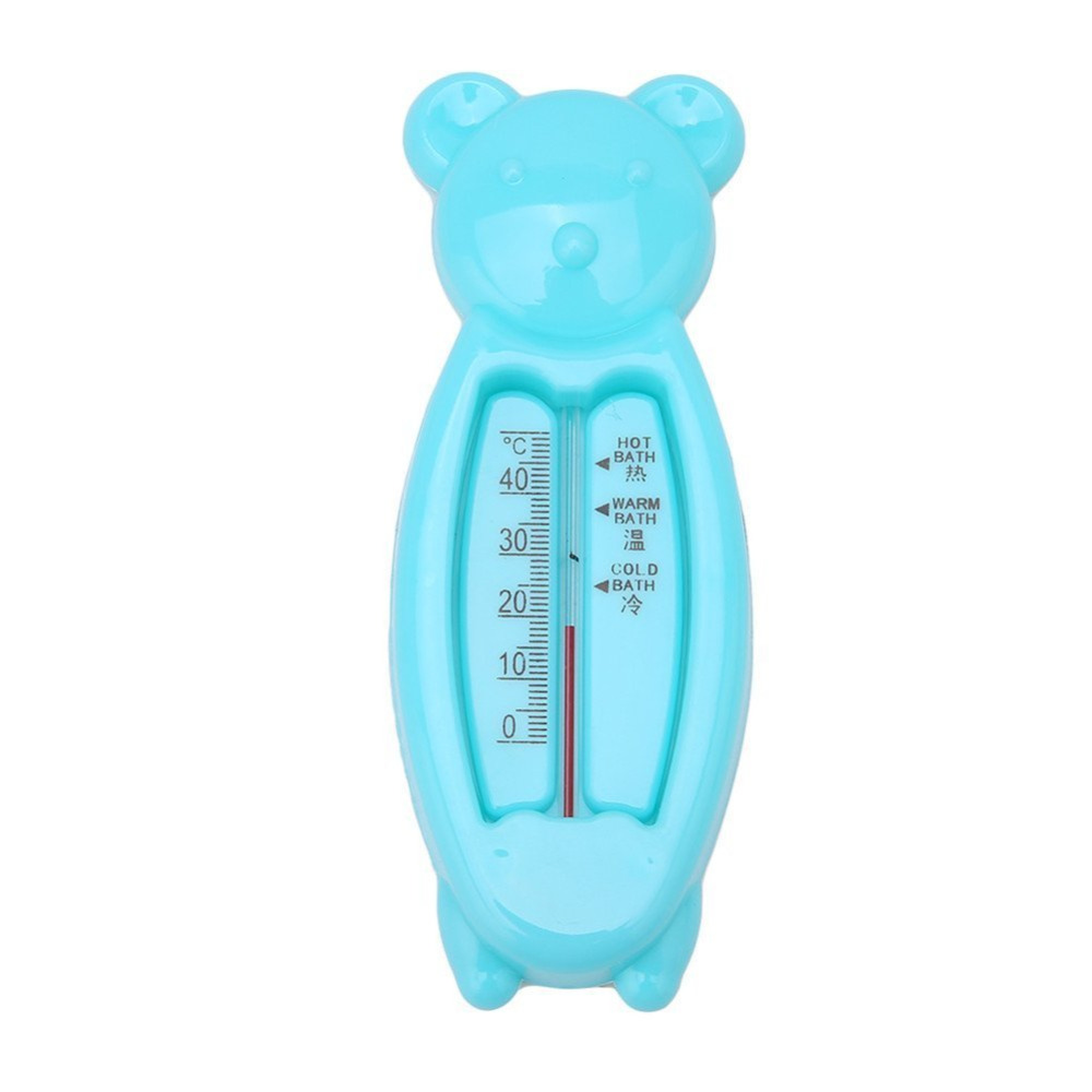 Lovely Bear Baby Bath Water Thermometer Tub Kids Bath Temperature Water Tester Kids Toy Room Water Sensor Thermometer