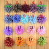 10cm New Stripe Chiffon Flower Without Clips For Baby Girls Headwear DIY Chiffon Flower Ornaments Hair