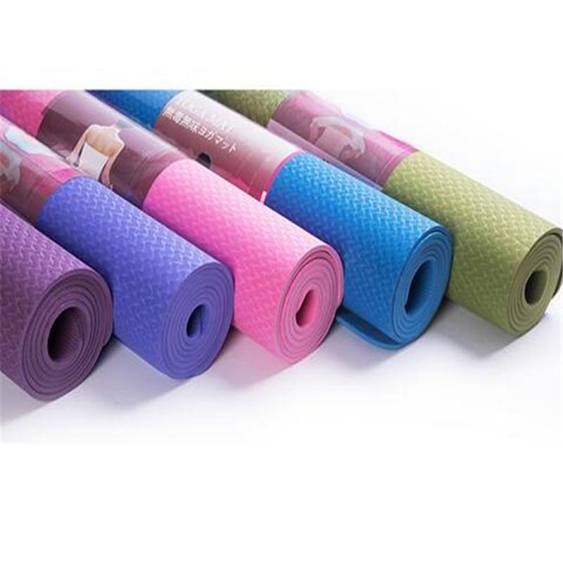 Point Break Authentic 6 Mm Export Tpe Yoga Mat Factory