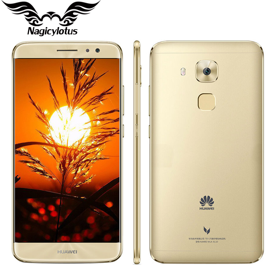 Huawei Maimang 5 MSM8953 Octa Core 4GB 64GB 5.5 inch 2 Rear Camera Android 6.0 16.0MP 2.5D Fingerprint Mobile Phone