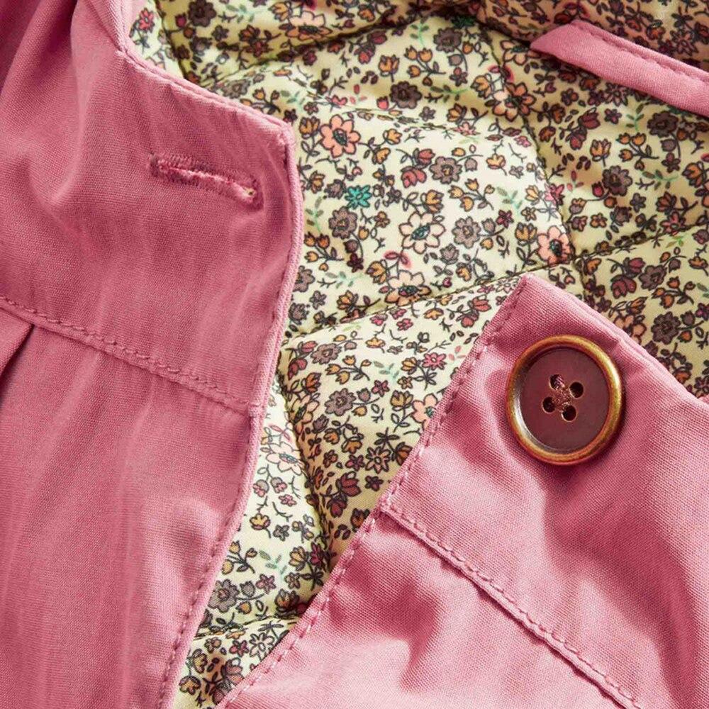 cf67e526a9bf YKYY YAKUYIYI Pink Hooded Girls Outwear Single Breasted Baby Girls ...