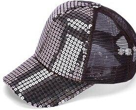 50 шт./лот Federal Express быстро в Корейском стиле повседневные платья Регулируемый блестками Бейсбол Кепки для мальчиков и девочек спортивная шапочка - Цвет: 2