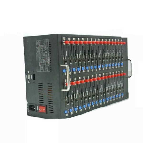 Manufacture supply high quality 32 ports wireless Q24plus GSM/GPRS modem support send SMS and Recharge