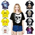 Adogirl Cheap Summer t-Shirts Women Yellow White Black Short Tops 2017 Hot Club Loose t Shirts Lady Short Sleeve Round Neck Tees