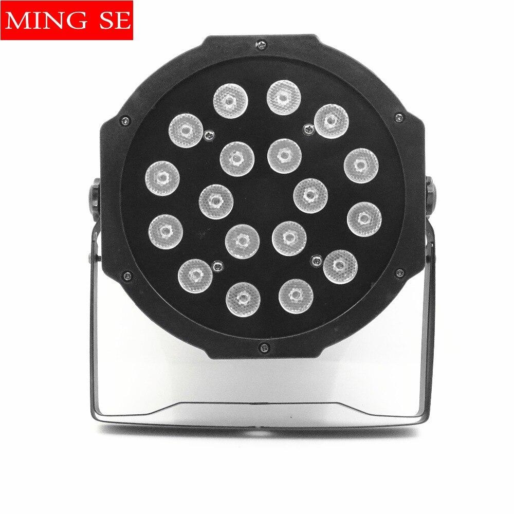 LED parfény 18x3W 54W nagyteljesítményű RGB par-világítás - Kereskedelmi világítás
