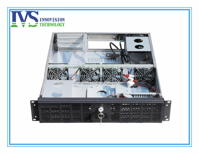 2U computer case for ATX M/B with 3 horizontal full-height half-length PCI PCIe expanional card slots hsc 1711cldn half length cpu card computer 100