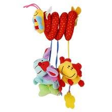 Animal Handbell Toy for Newborn Baby Toys 0-12 Months Pram B